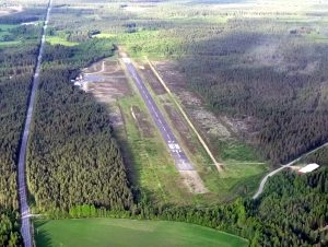 Kauhajoki airfield seen from the air. Photo taken 23.6.2015 by Jarmo Uusimäki
