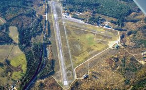 EFLA from the air as seen from the end of RWY 25 photo taken 16.10.2014, Taken by: Lauri Lahtinen