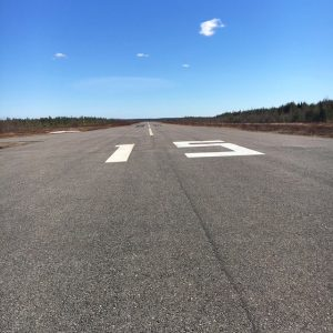 Ranua RWY 19. Picture taken 5.5.2016 Photo: Tomi Tuominen