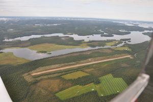 Closer aerial of the airport. Photo 2009 fall by Timo Hyvönen. (click to enlarge)