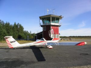 Guest at Kauhajoki ramp on the 30.9.2004. Photo by Pekka Lehtinen.