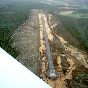 Aerial photo taken 25.5.2005. Photo: Janne Laurinen.