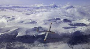 LS-4 glider above Vistasdalen