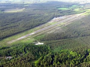Closer aerial of Kauhajoki. Taken 23.06.2015. Photo Jarmo Uusimäki